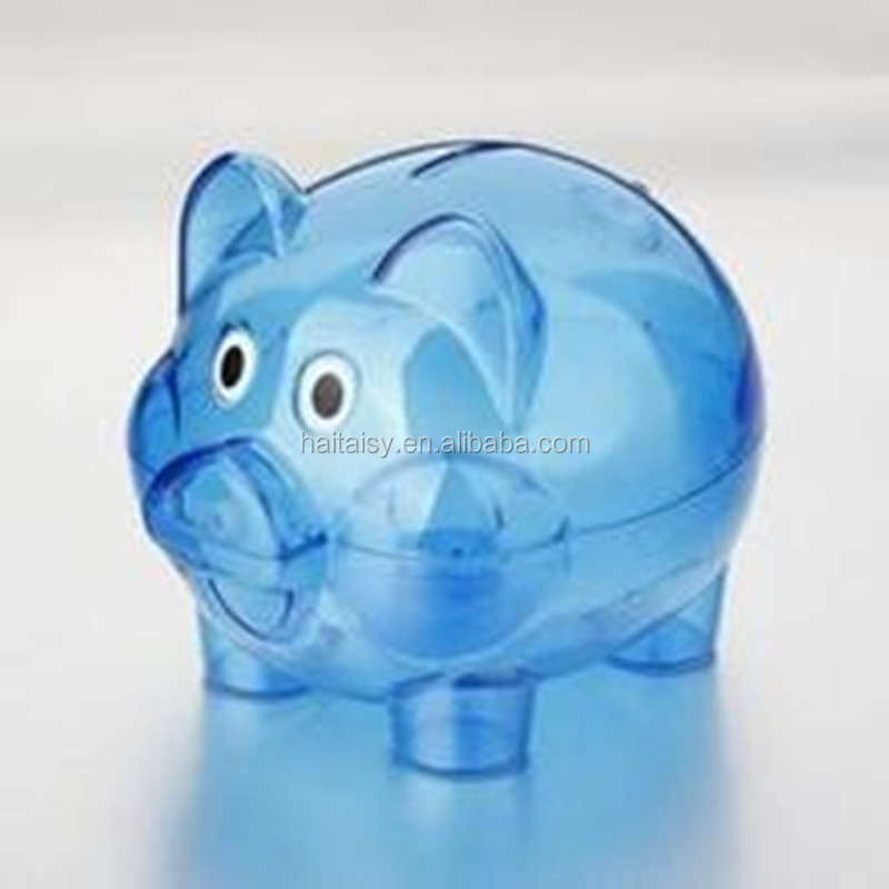 nice quality customized promotional plastic piggy bank, plastic piggy banks for kids,cheap piggy banks