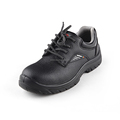 Anti-slip rubber sole steel toe safety working shoes for men