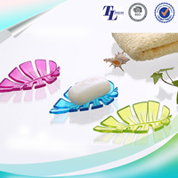 Different colors PVC soap dish for shower