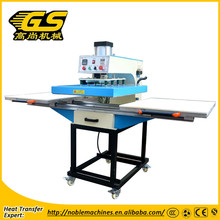 Hot selling two working iron table cheap used t shirt heat press machine on sale