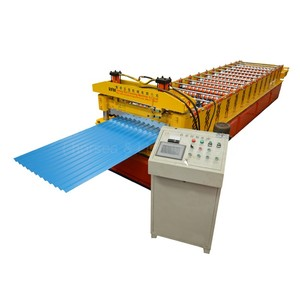 hot sale! roofing sheet corrugating iron roll forming ibr metal roof/wall panel making machine