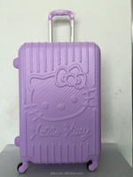 Custom Made luggage Lightweight ABS PC luggage Cute Girl Boy case For Kids With Various Colors