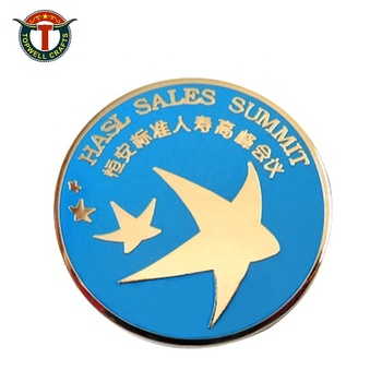 Customized Epoxy Countries Metal   Soft Enamel  Button Pins Badges