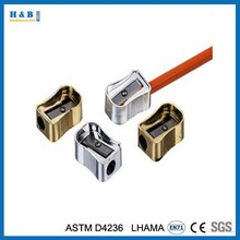 4 pcs for students metal pencil sharpener