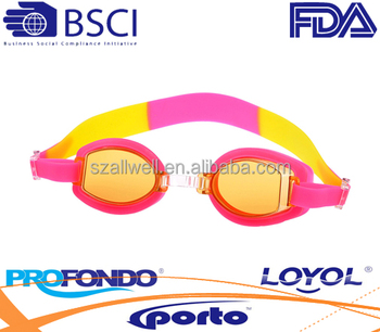 Quality factory water goggle with dual strap