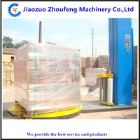factory wholesale airport luggage shrink film wrapping machine (Skype;sophiezf3)