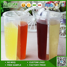 wholesale 700ml Twins Plastic cup for Hot/Cold drinks Double enjoy cups
