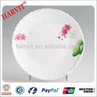 Restaurant Opal Glass Cheap Price Opale ware Tableware Dishes & Opal Glassware Plates