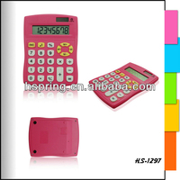 Big pink girl rhinestone desktop calculator