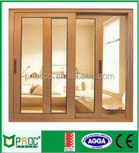 PNOC Cheap Price Aluminum Sliding Window| French Windows with Mosquito Screen and CE Certificate PNOC0002SLW