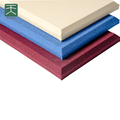 Soundproof fiberglass insulation panels for interior decoration