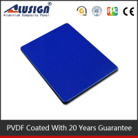 Alusign PVDF coating exterior facade usage 2013 2016 new innovation building material