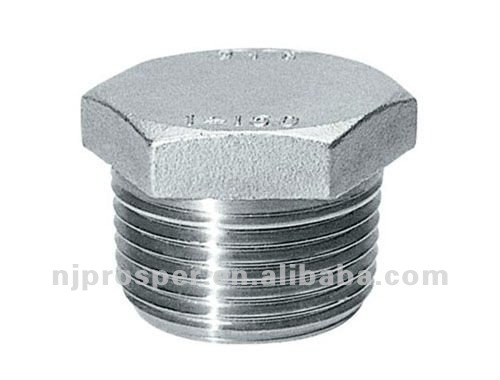 Stainless Steel NPT Threaded Hex Head Plug