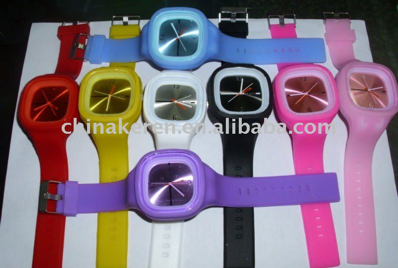 geneva silicone watches wholesale