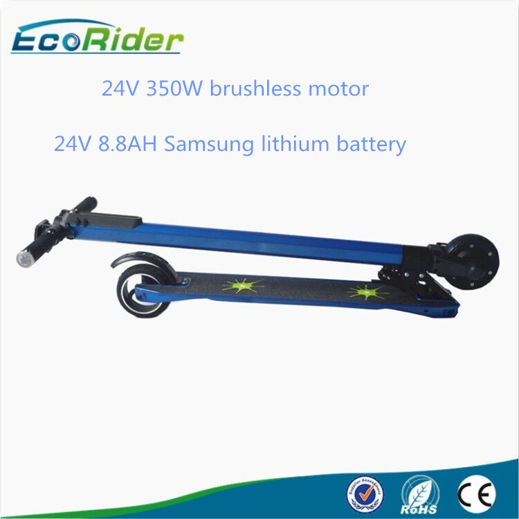 App-controlled Li-ion battery carbon fiber mini 5-inch tire 6.3kg electric balance foldable scooter