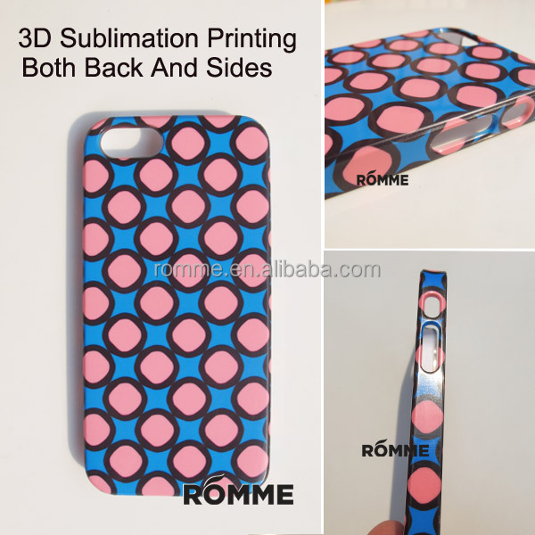 Professionally Mobile Phone Case Manufacturer Supply 3D Sublimation Transfer Printing For Iphone 5 Case Covers