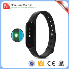 Develop healthy lifestyle Sedentary reminders multi-color smart bluetooth bracelet
