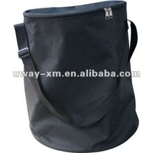 UW-PFB-001 2012 New arrival black terylene pet food storage bag,pet travel food bag,dog food bag
