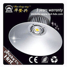 Portable rechargeable manufacture 60w e40 e27 industrial led high bay light for supermarket