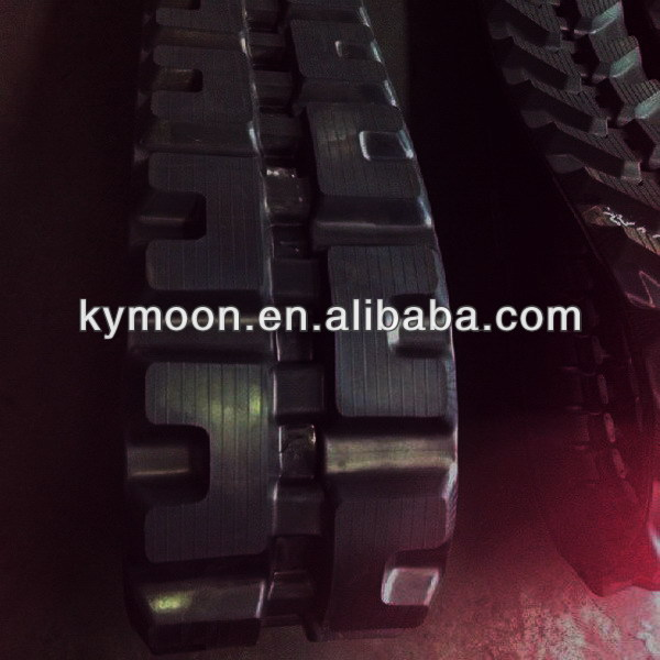 Rubber track for JCB 804,JCB,BOBCAT, Construction Machiery Rubber Track