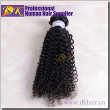 Super quality tangle free alli express human hair, real virgin afro kinky human hair weave