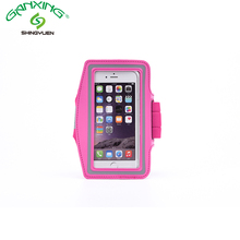 Running waterproof mobile cell phone sport armband case for smartphone