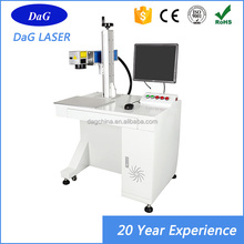 High Precision 20W 30W fiber laser imprinting machine price