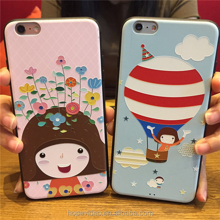 3D TPU phone case cute cartoon Animal CUSTOMIZED phone case for all kinds of hotsale smartphone