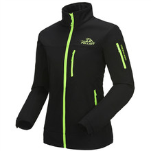 2017 High Quality Womens Cheap Windbreaker Waterproof 100 Polyester Softshell Jacket