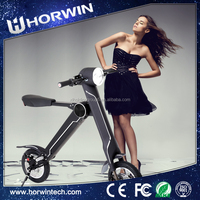 Battery Powered electric Foldable motorcycle k1 electric 250w scooter