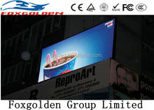 foxgolden outdoor full color led display screen p6,p8,p10,p16 outdoor video advertising display