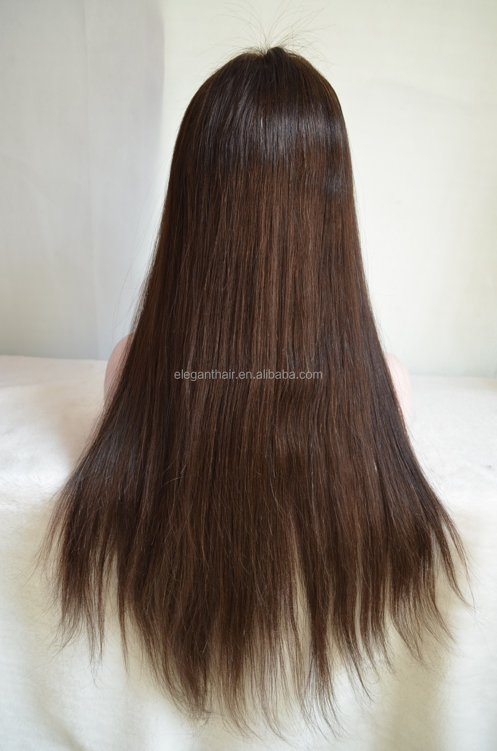Indian Remy Hair Full Swiss Lace Wig For Quick Delivery
