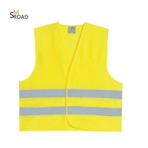 hi safety security visibility work clothes yellow safety running reflective vest with colorful logo