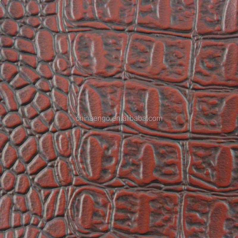 New design Semi PU upholstery leather material for sofa and decoration usage