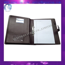 A4 Leather 2 Ring Binder Portfolio