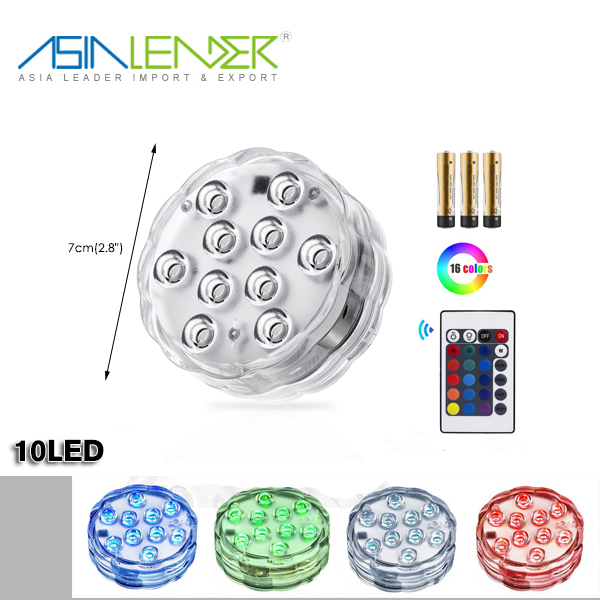 Colors Changing WaterProof Underwater, Low Voltage Lamps LED Swimming Pool Light