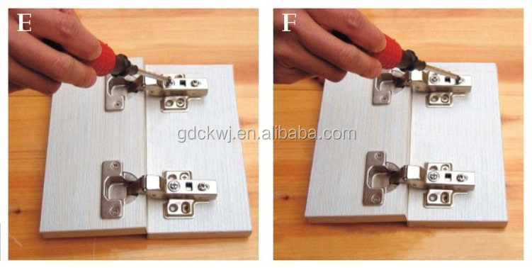 high quality custom 110 degree stainless steel soft close led light kitchen cabinet hinges hydraulic concealed hinge