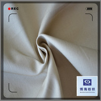 98% cotton 2% 32x32+40D/160x60 spandex twill dyed cotton twill vat dye cotton fabric in huzhou