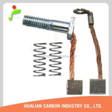 CBZ high copper content traction motor carbon brushes in motorcycle