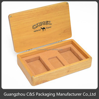 Promotional Nice Design Red Wood Condiment Box