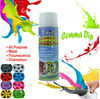 air-dry ,easily peel off,rubber paints,coating colordip