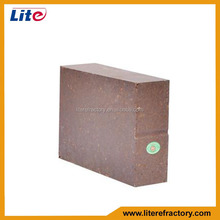 Industrial Furnace Used High Crushing Insulated Magnesia Alumina Fire Brick for Cement Kiln