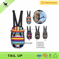 Expandable Pet Front Carrier Four Legs Out Backpack For Dogs
