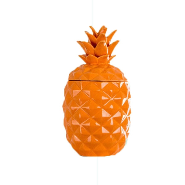 Wholesale Coastal Ceramic Pineapple Storage Jar
