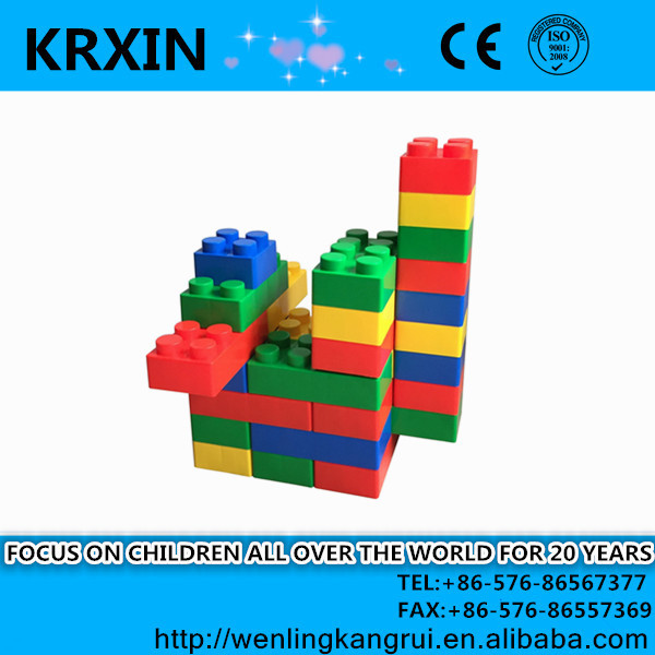 plastic large Building Blocks Toy for kids PP building block 45pcs