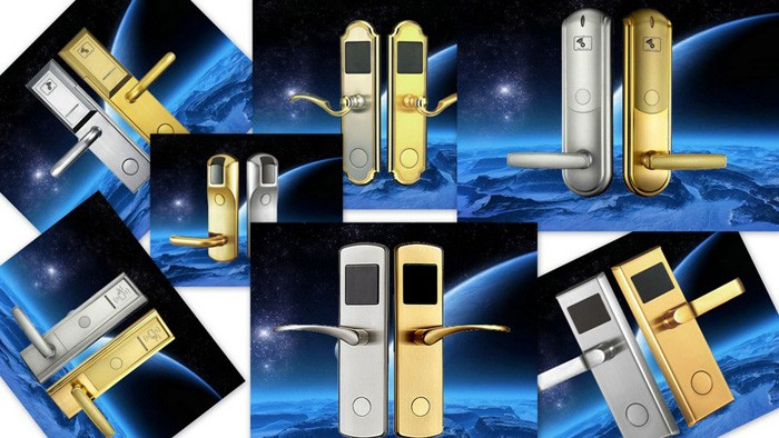 Shenzhen factory secure electric proximity ic hotel lock key card door lock