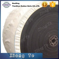 Fire-retardant type, polyester/nylon canvas EP conveyor belt with excellent endurance rubber