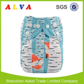 ALVABABY Fox Print China Cloth Diapers Baby Diaper Manufacturer
