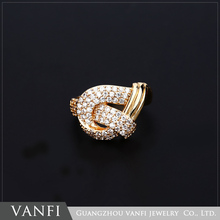 New design top quality fashion 18k gold color diamond ring design