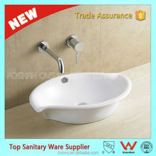 special shape china manufacturer leaf shape wash basin A8061